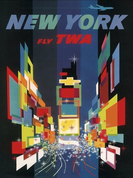 New York USA Poster - David Klein