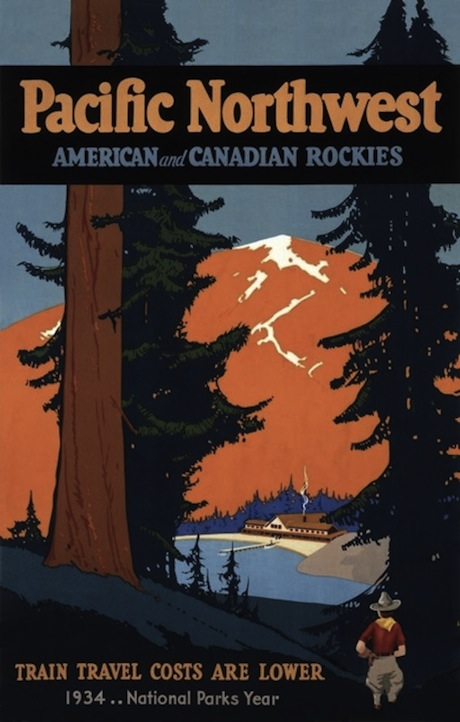 Pacific Northwest - American and Canadian Rockies - Poster