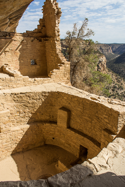 balcony house mesa verde national park colorado usa