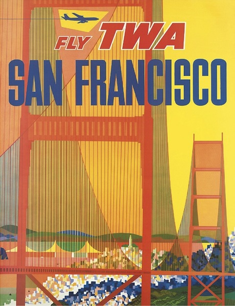 San Francisco old-school poster