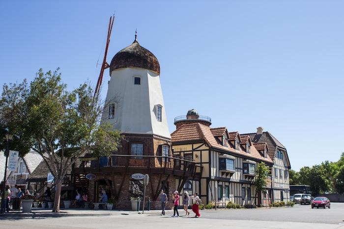 Ville Californie Moulin A Vent