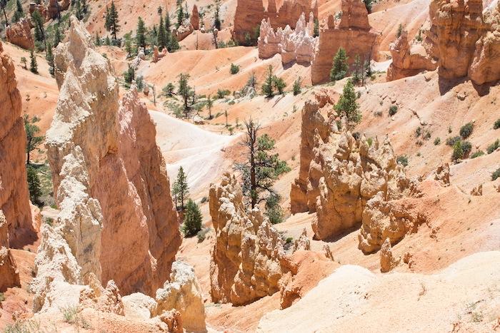 Cheminées de fée de Bryce Canyon aux Etats-Unis