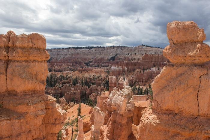 randonner à Bryce Canyon National Park, joli parc national de l'Utah