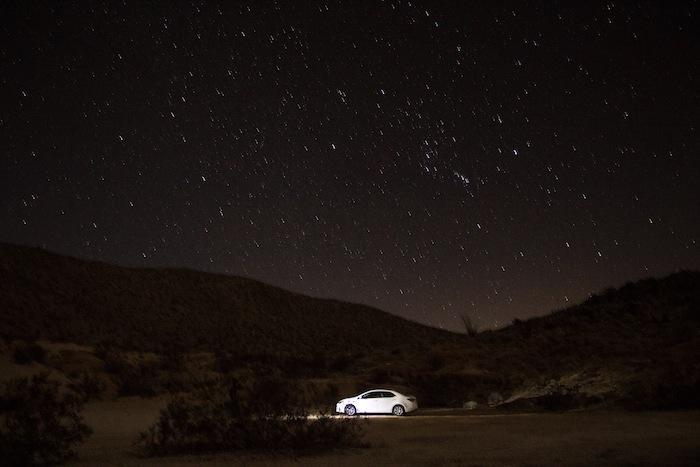nuit étoilée désert californie