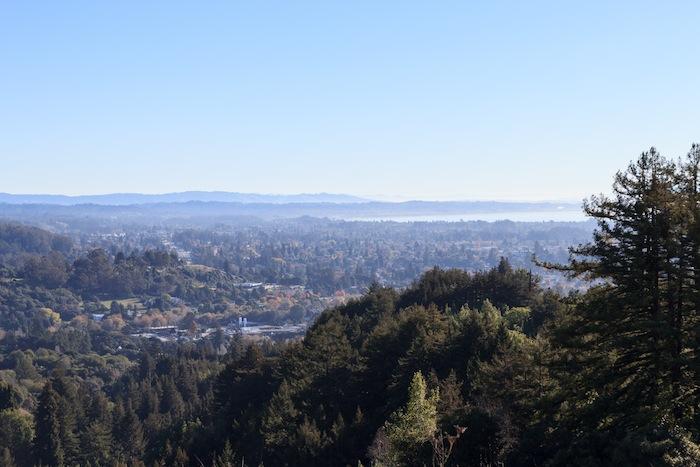 Vue sur Santa Cruz