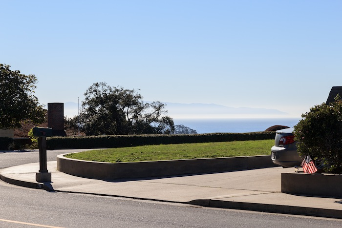 Santa Cruz, vue sur la baie de Monterey