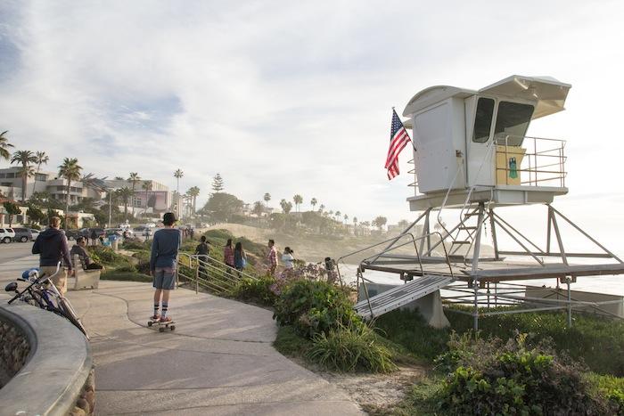 bord de mer La Jolla San Diego