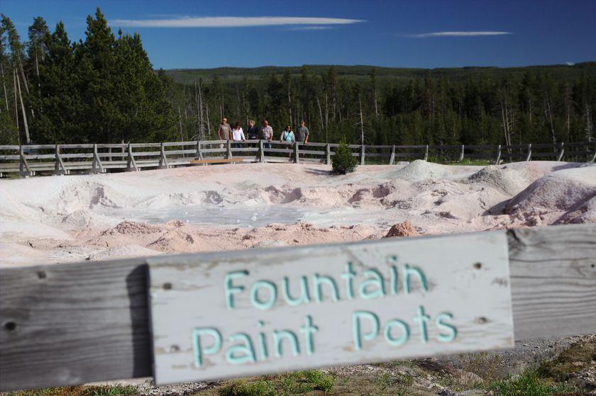 Fountain Paint Pots