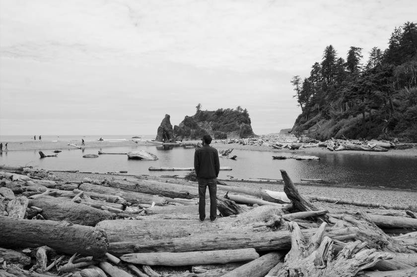 Ruby Beach, à Olympic National Park