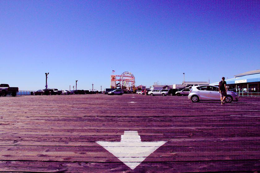 Sur le pier de Santa Monica