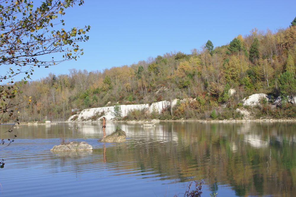 lac de l'Ermitage Sainte Catherine