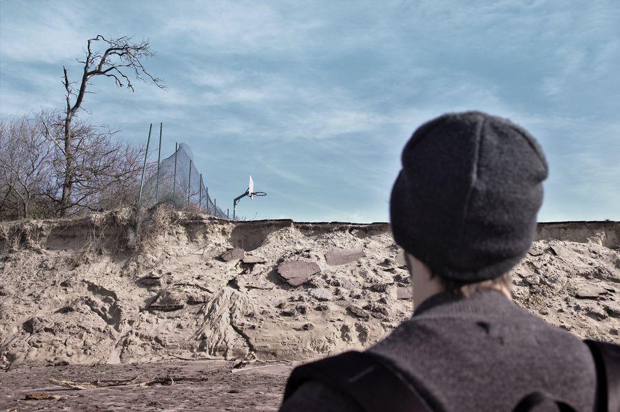 érosion du littoral à Soulac en Gironde