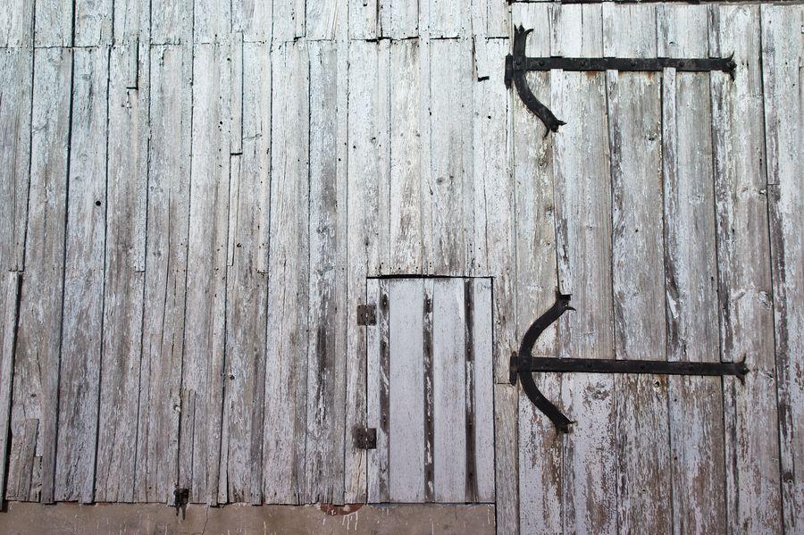 vieux hangar en bois