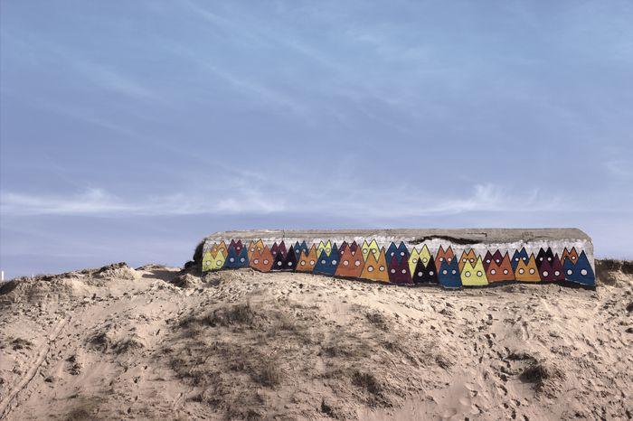 l'ancien mur de l'atlantique